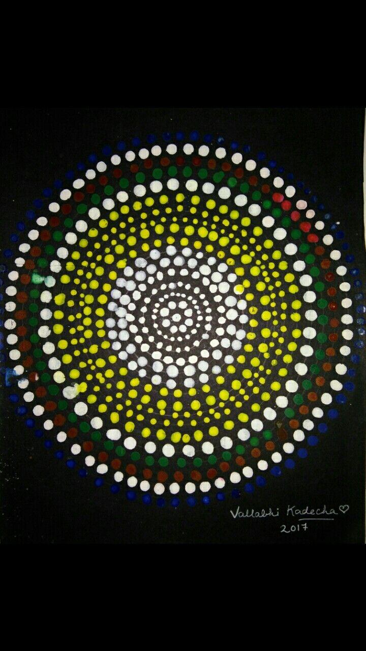 Dotted art dots art creative art