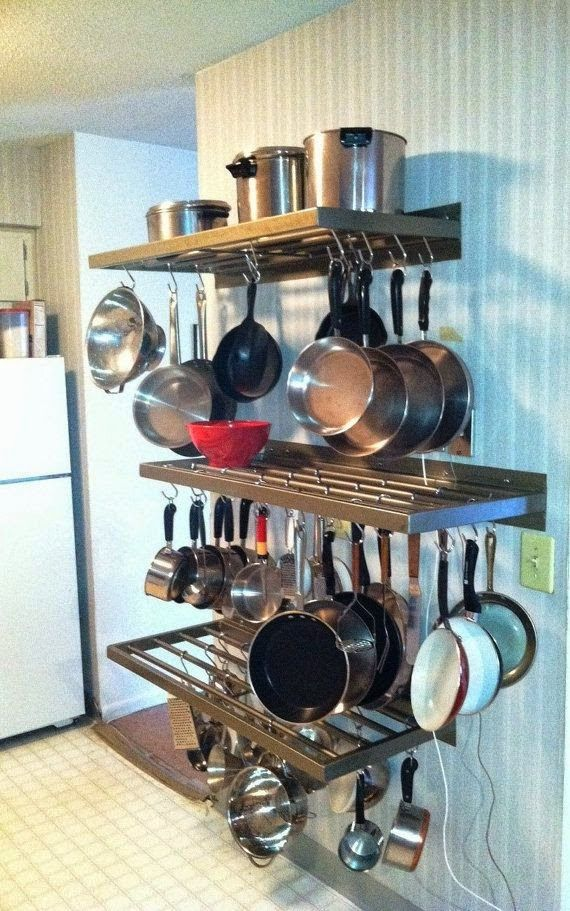 How To Store Pots And Pans Kitchen Design Kitchen Pot Small