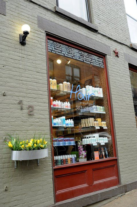 12 Phila Street Saratoga Springs Ny Courtesy Niki Rossi Photography Salon Window Display Window Display Hair Salon