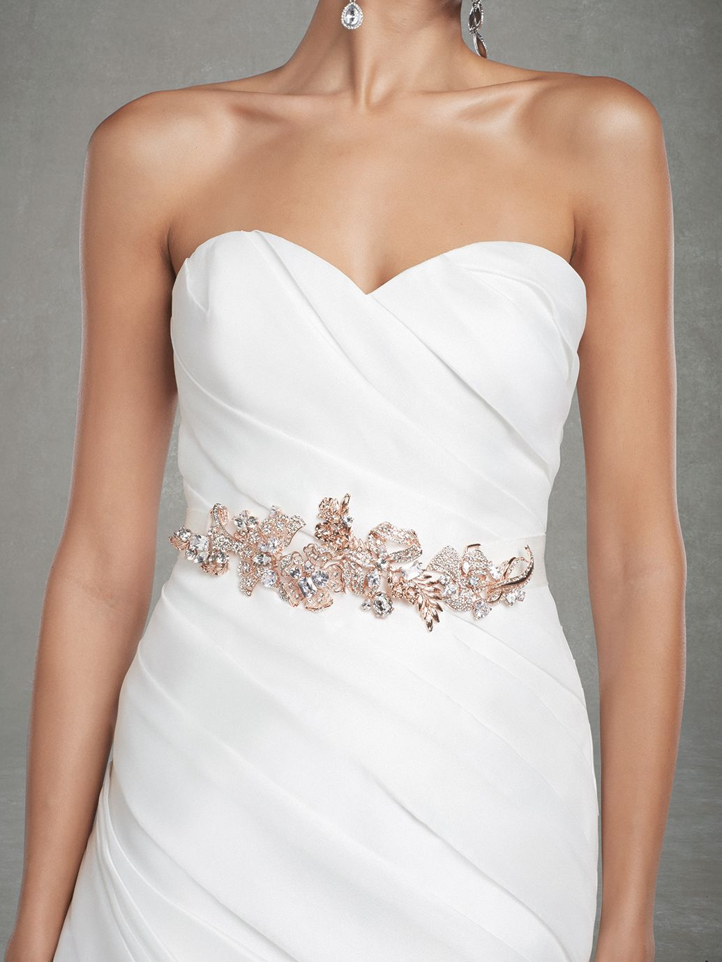 Looking For Belt On Wedding Gown Enzoani Has A Different Range
