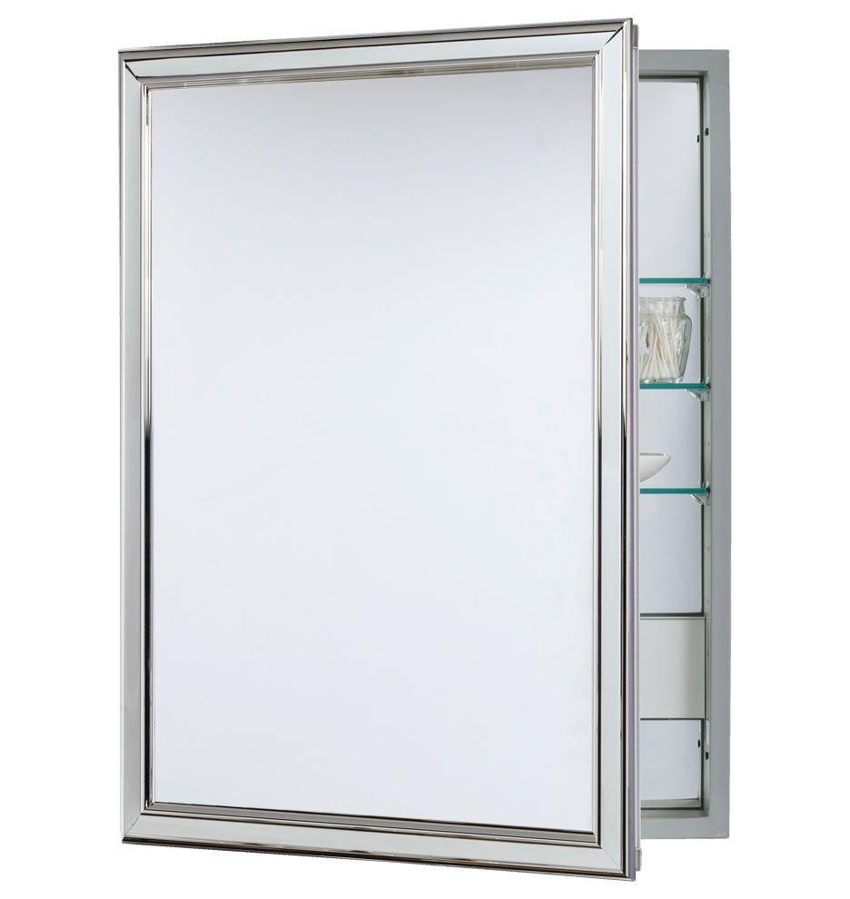 Fantastic Framed Medicine Cabinet With Outlet Monaco Bathroom Interior Design Ideas Philsoteloinfo
