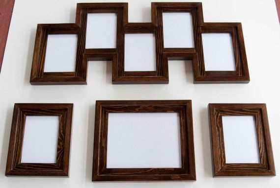 4 Piece Frame Collection 1 8x10 2 5x7s And 1 5 Opening 5x7