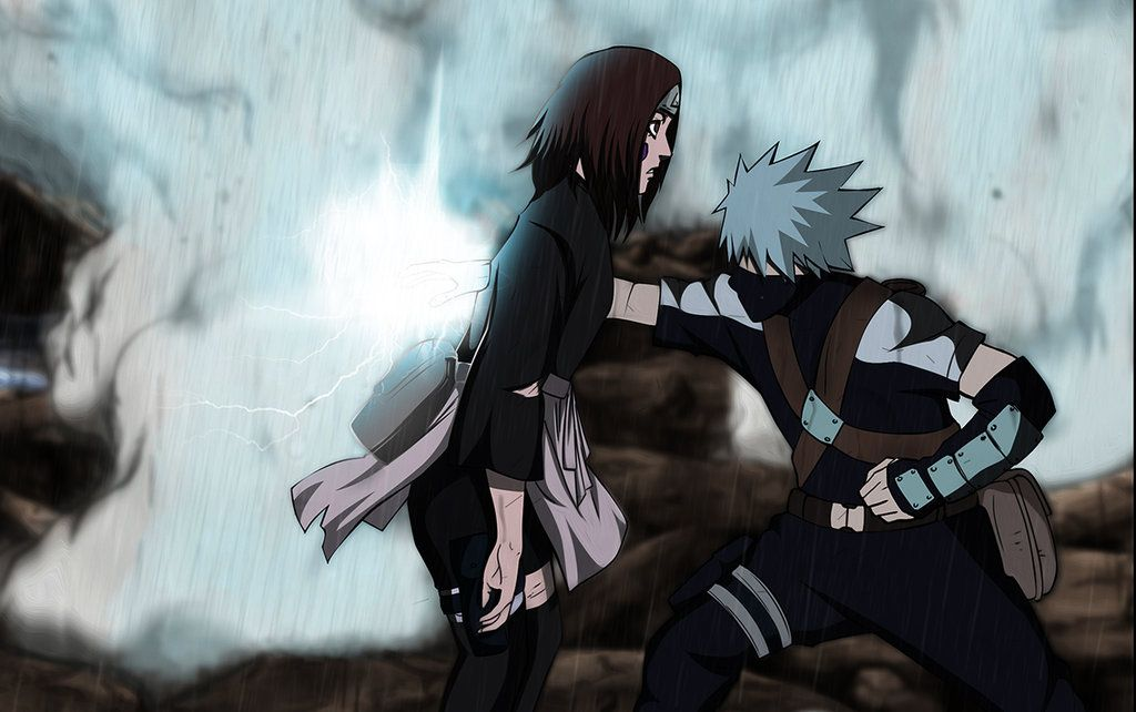 Naruto Kakashi Dies Rin's death...