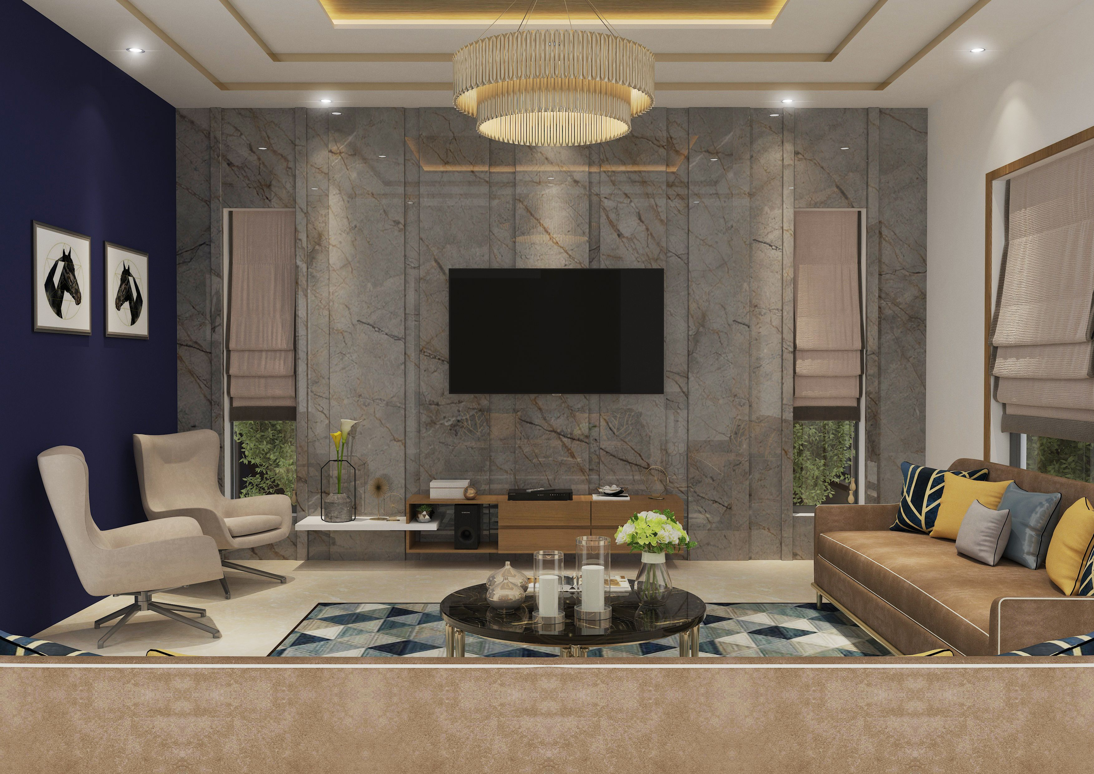 Modern Living Room With A Decent Look Ankit S In 2019 Room