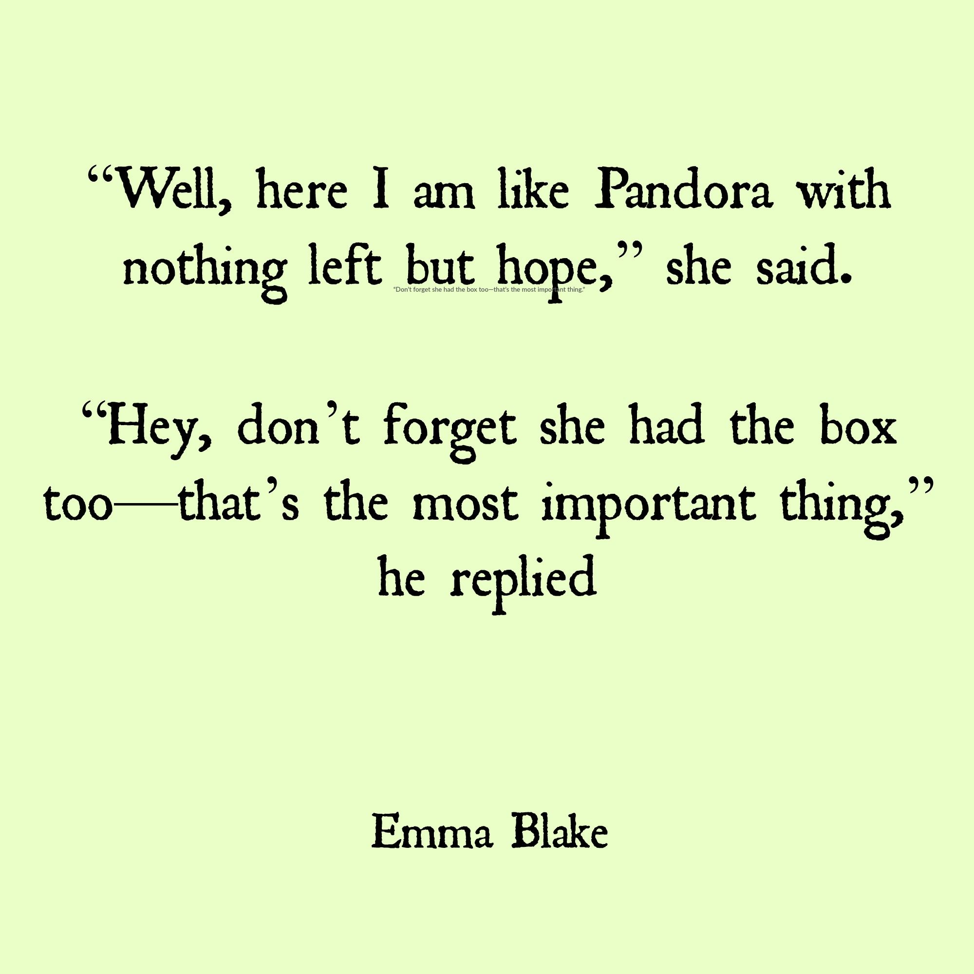 Quotes About Losing Someone Custom Emma Blake Hope Quote Losing Someone  Poemssayingssappy Shit