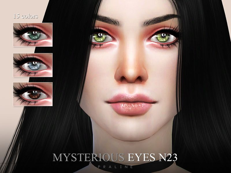 Eyes in 15 colors  Found in TSR Category 'Sims 4 Eye Colors' | Sims