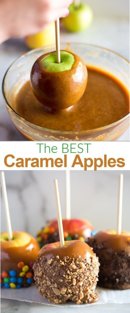How to make Perfect Caramel Apples