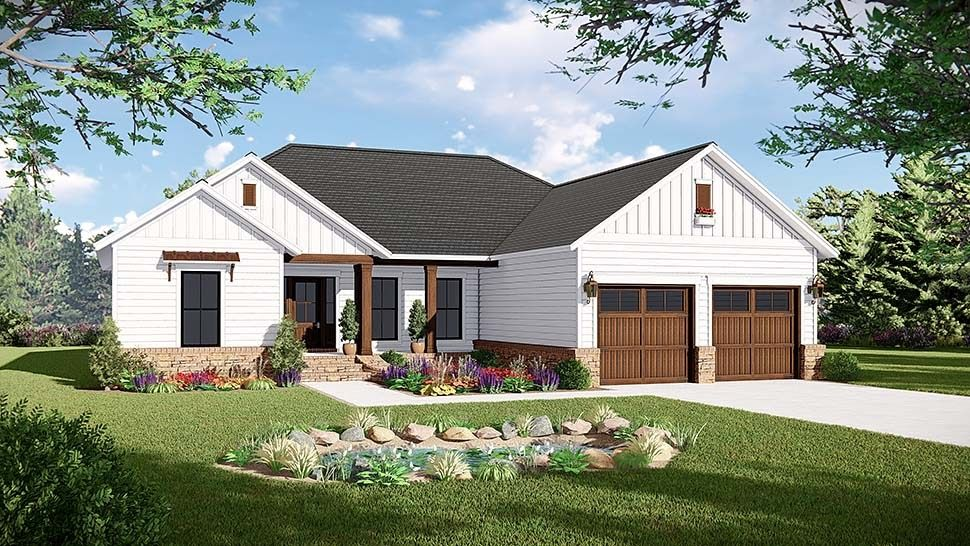 House Plans And Home Floor Plans At Coolhouseplans Com House Plans With In Law Suite Above Country Style House Plans Modern Farmhouse Plans Ranch House Plans