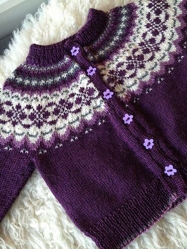 Ravelry: TanteUll\'s Cardigan for my niece | knit & crochet ...