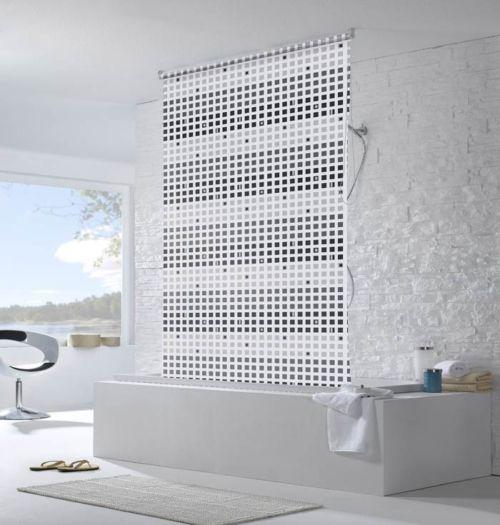 Water Resistant Roller Blinds In Bathroom Roller Blinds