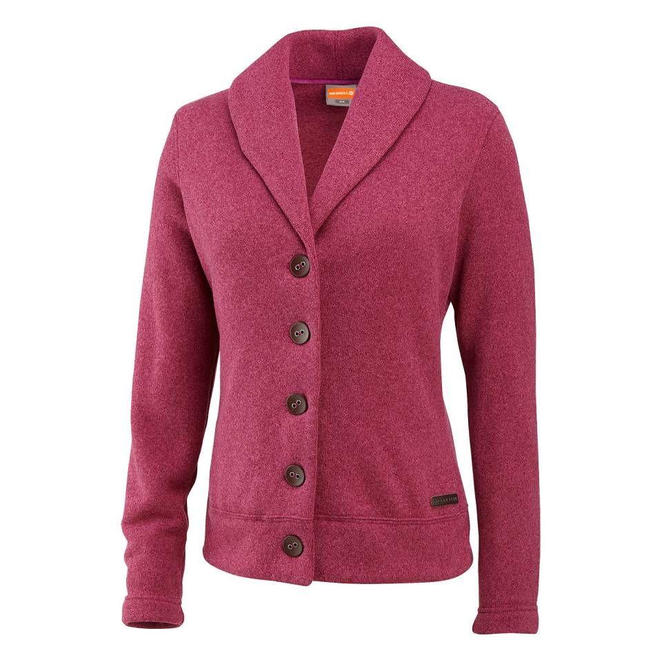 Merrell Women's Arabella Button-Up Fleece Cardigan on Altrec.com ...