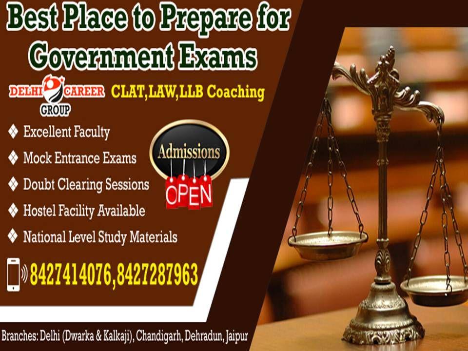 Delhi Career Group One The Best Institute For Clat Exam Preparation In Chandigarh Delhi Career Group In Chandigarh Has Got Its Popula In 2020 Exam Coaching Chandigarh