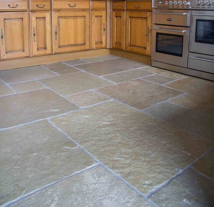 Jaipur Aged Flagstone. Tumbled Limestone Tiles From