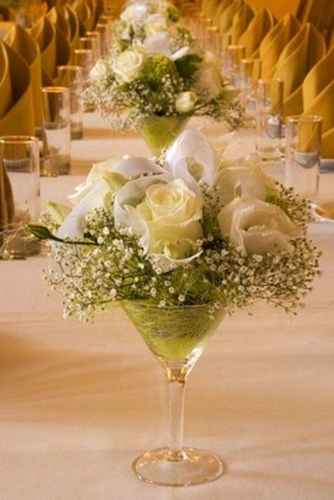 Centros de Mesa para Boda Económicos y Originales con Tutoriales - centros de mesa para bodas