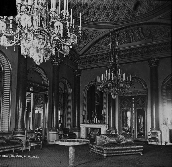 Bow Saloon, Buckingham Palace, C. 1910