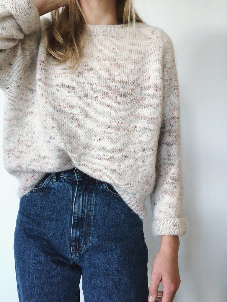 Kein Schnickschnack Pullover – PetiteKnit