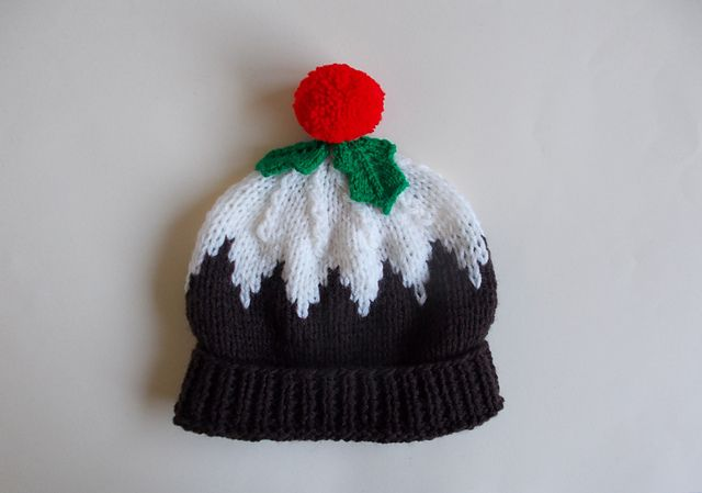 Ladies Christmas Pudding Hat Pattern By Marianna Mel Free Knitting