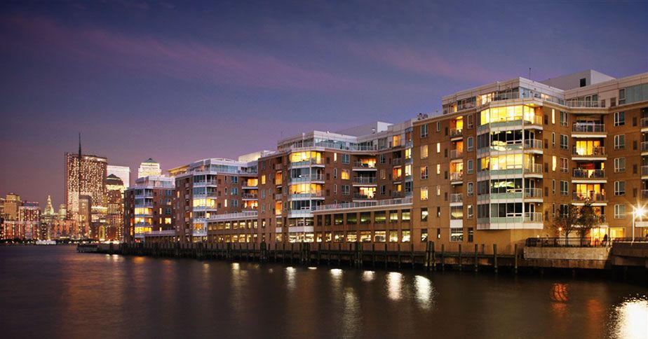 The Pier Apartments With Images Harbor View Jersey City Hotel