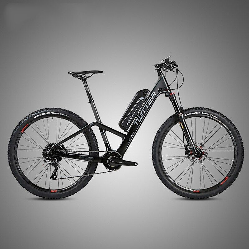 27 5inch Carbon Fiber Electric Bicycle Travel Bike Lcd 36v Lithium