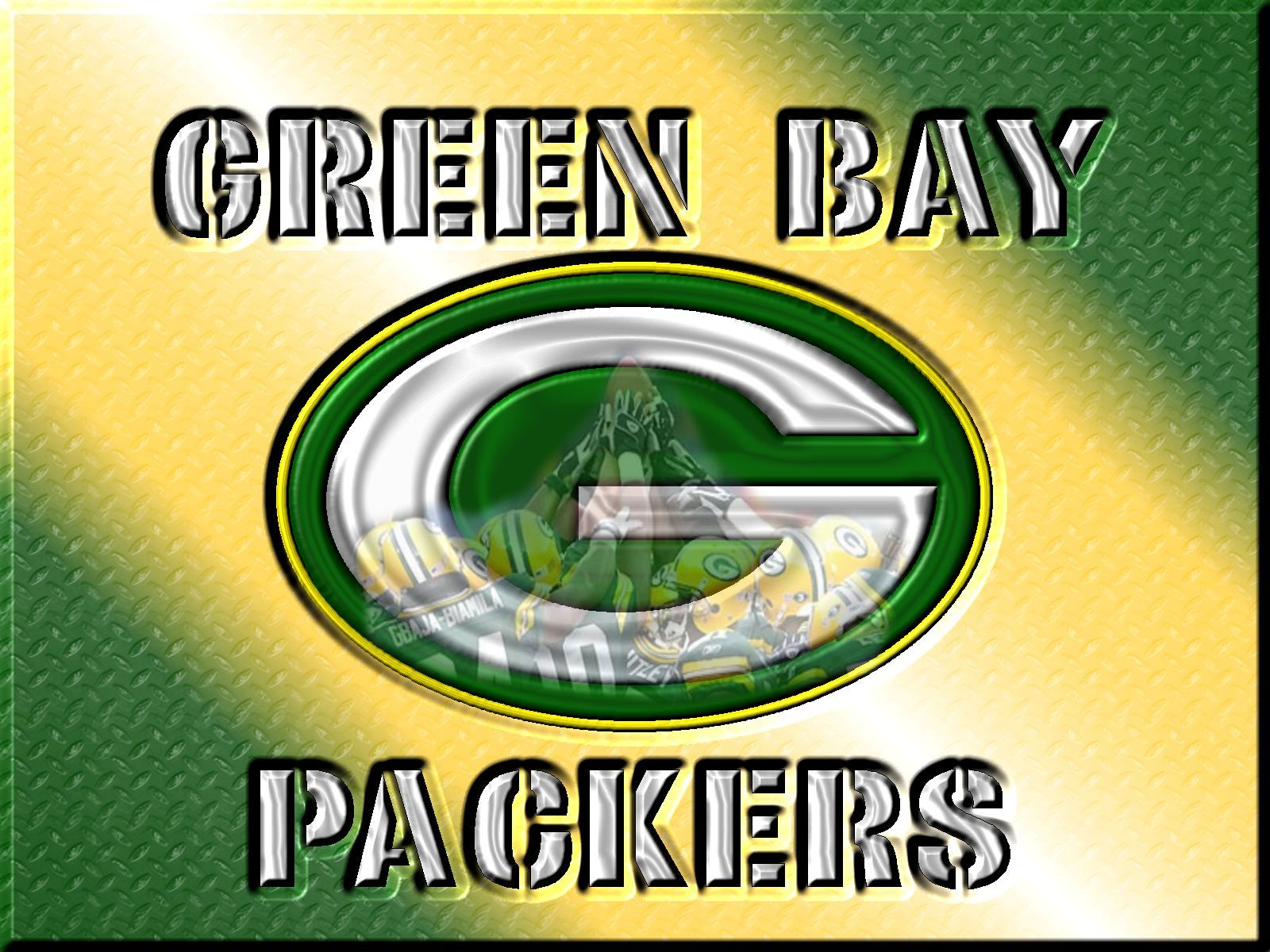 Green Bay Packers NFL Wall Border - InteriorDecorating | All ...