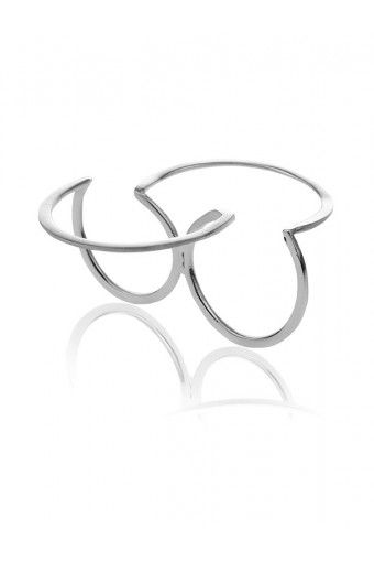 Double Circle Ring...pinned by ♥ wootandhammy.com, thoughtful jewelry.