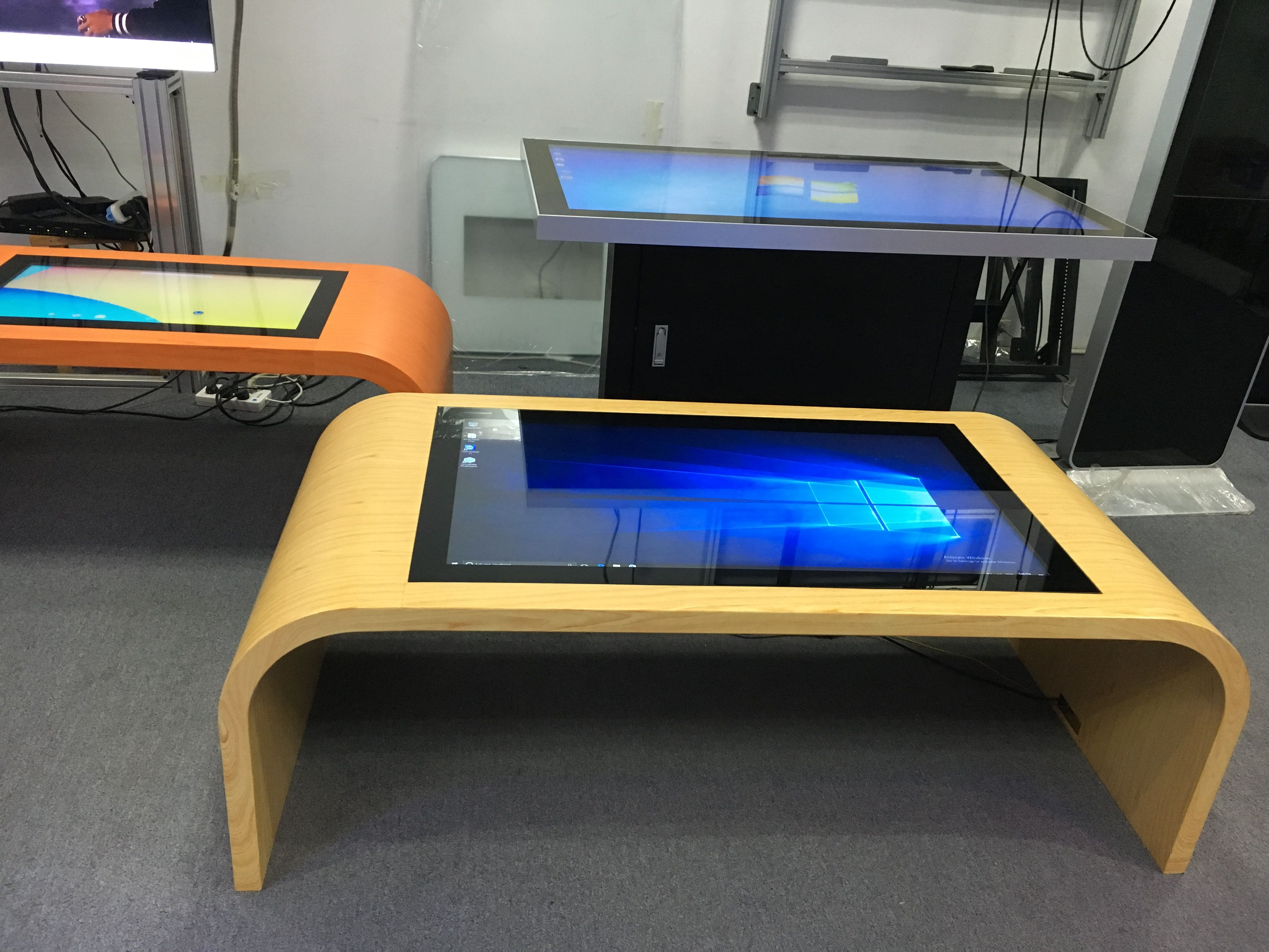 Fashion style smart table interactive table. Touch