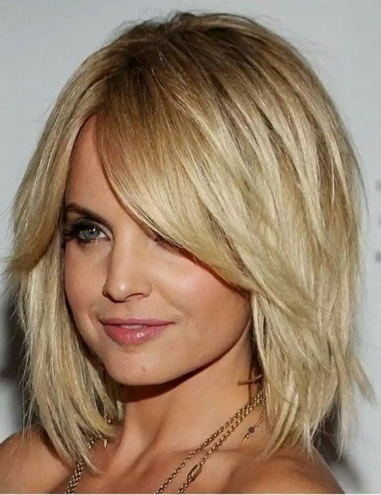 Medium Length Bob Hairstyles For Fine Hair Prepossessing Love This Medium Shag Haircut Good For Fine Hair Hair
