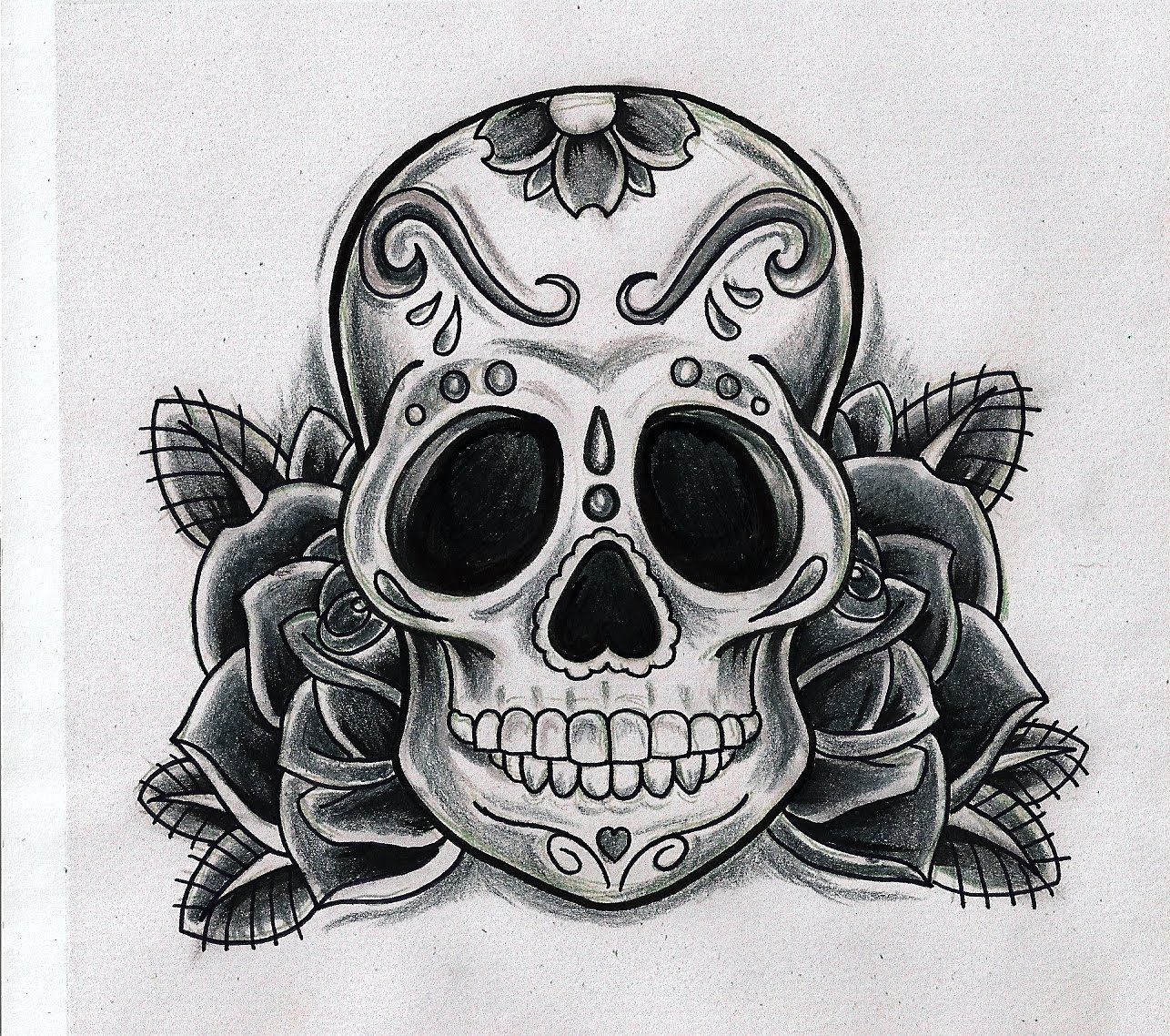 Skull Tattoo Mexican Skull Tattoos Sugar Skull Tattoos Candy Skull Tattoo