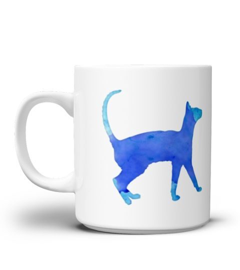 # Watercolor Cat Mug .  **We Ship Worldwide!**Only available for a LIMITED TIME, so get yours TODAY! Printed in the U.S.A. If you buy 2 or more you will save on shipping!Available in different styles and colors.*Satisfaction Guaranteed + Safe and Secure Checkout via PayPal/Visa/Mastercard*Click the Green Button below and select your size and style from the drop-down menu and reserve yours before we sell out!