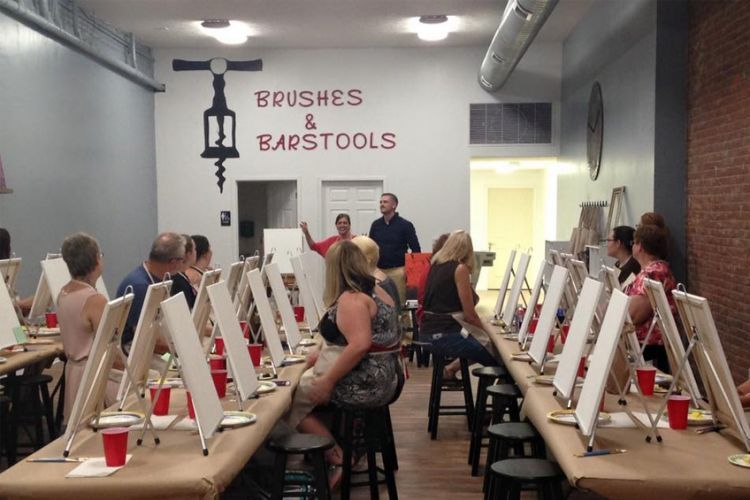 Brushes Barstools Is Butler Pennsylvania S Very Own Paint And