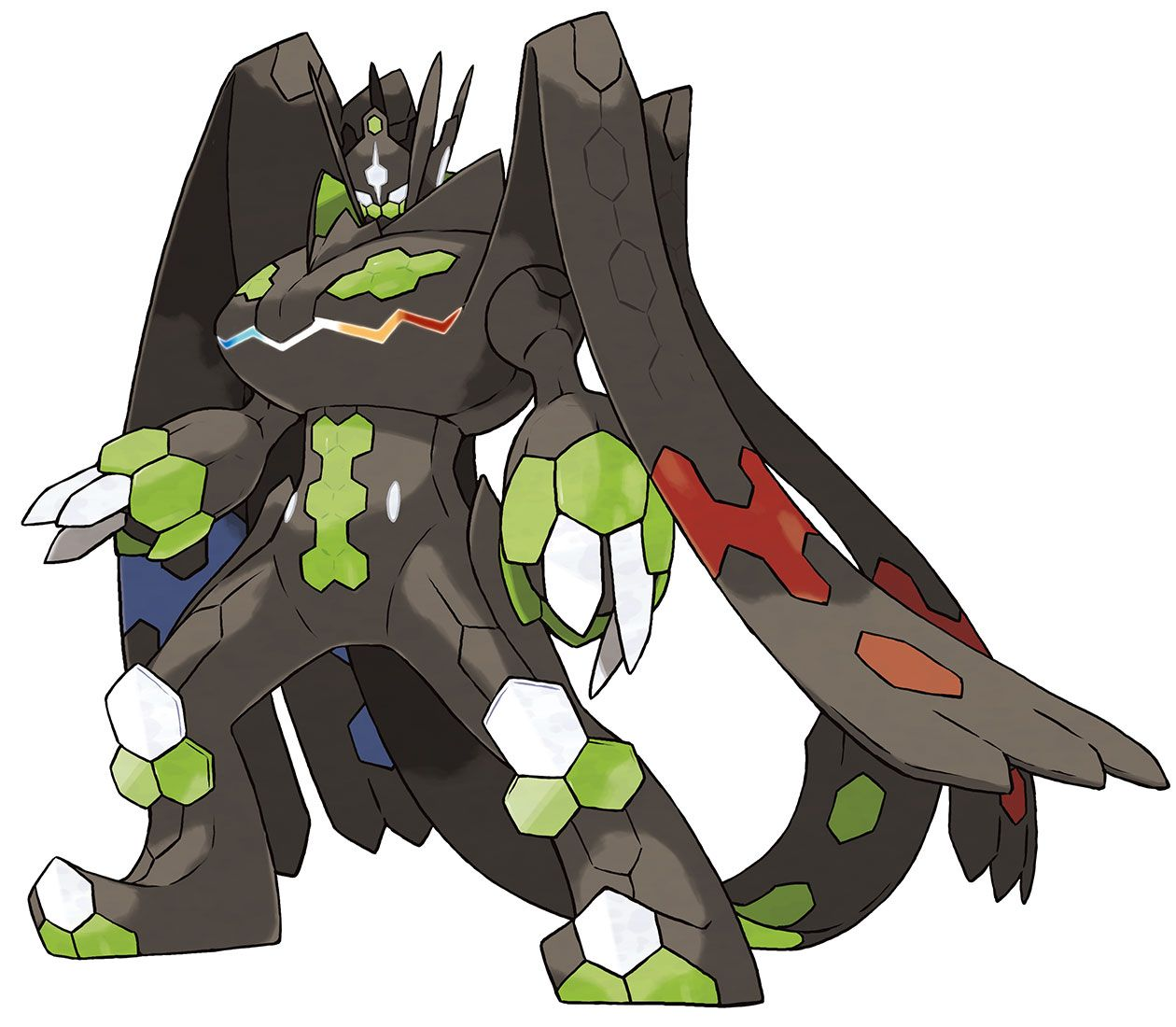 Pokemon Ausmalbilder Gewaldro : Zygarde 100 Percent Pokemon Sun And Moon Pinterest