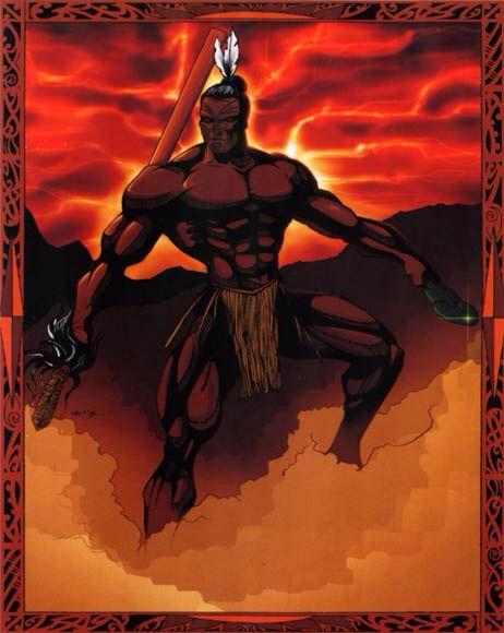Maori Mythology: Tumatauenga- Maori Myth: The God Of War And Balance. He Is