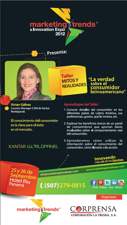 Taller Mitos y Realidades con Vivian Gálvez.