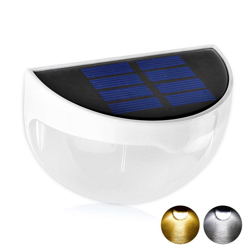 Hohe Helle LED Solar Licht Wasserdicht IP55 6 Lampe Aussenbeleuchtung Wandleuchten Mit Lichtsteuerung Fr