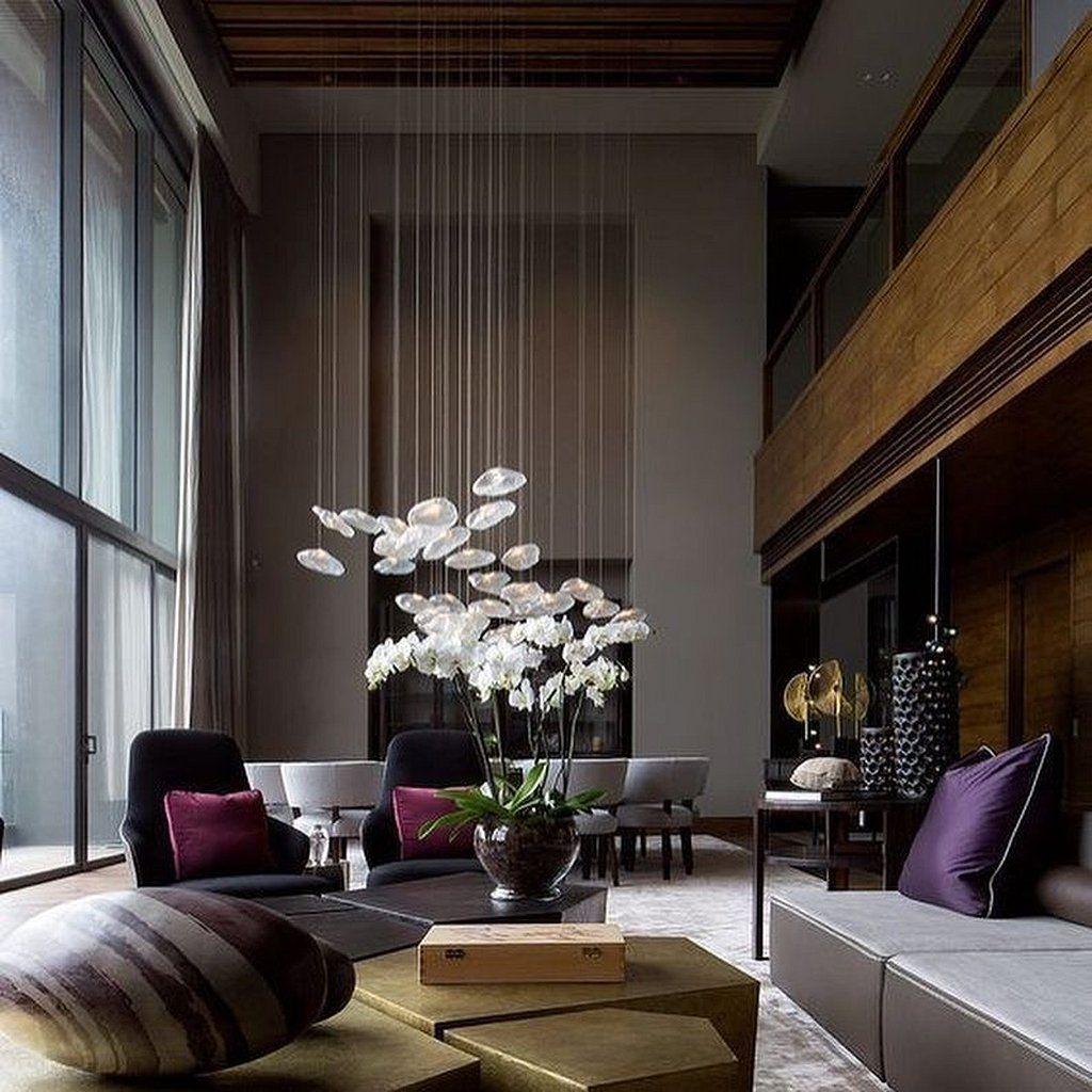 105 Inspiring Examples Of Contemporary Interior Design Https Www Mobmasker Com 105 Inspiring Living Room Design Modern Modern Interior Design Interior Design
