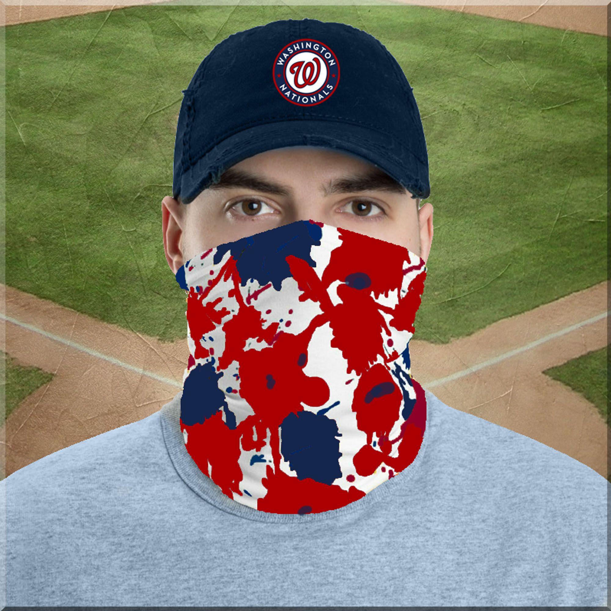 Nl East Mlbaseball Phillies Mets Marlins Braves Nationals Neckgaiter Facecover Facemask Headband Bandana Beanie Urban Fashion In 2020 Neck Gaiter Phillies Gaiters