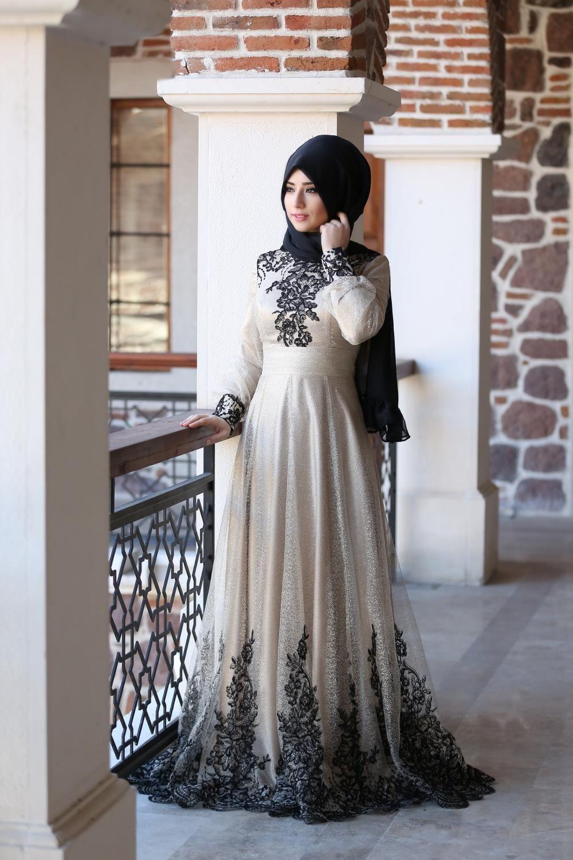 b885ec79ff8b5 Kiralık Tesettür Gelinlik Modelleri | Moda in 2019 | Gelinlik, Giyim ...