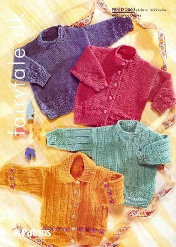 Vintage Patons Baby Knitting Patterns | Knitting patterns ...
