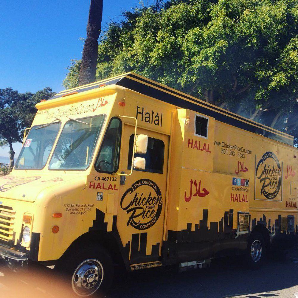 Chez Salim Chicken&Rice Food Truck Chicken rice, Los