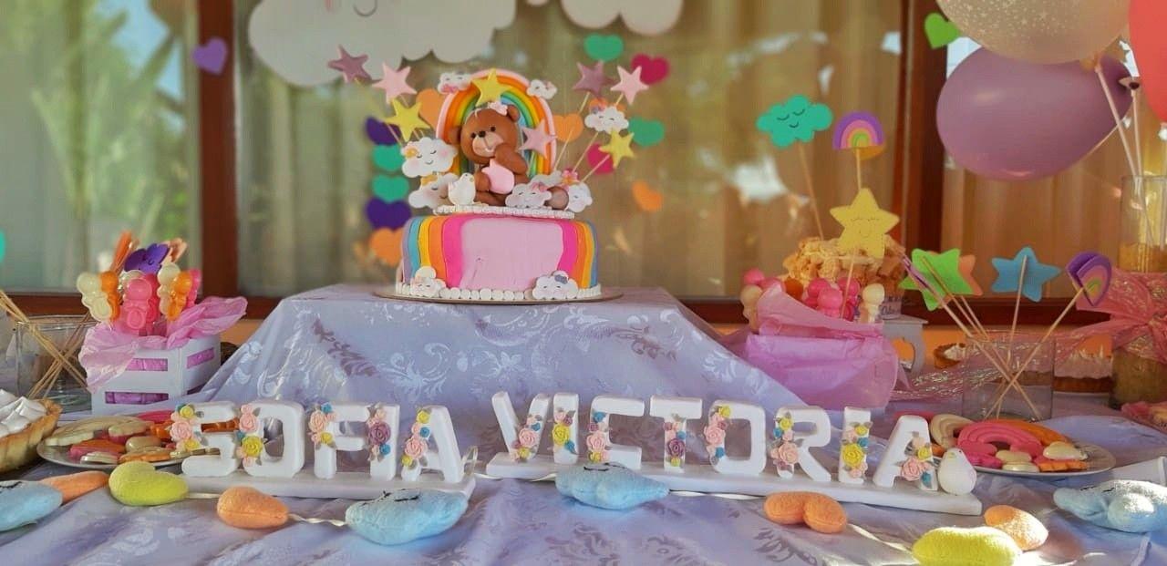 a45eb4dcc3df4 Mesa dulce baby Shower de nena