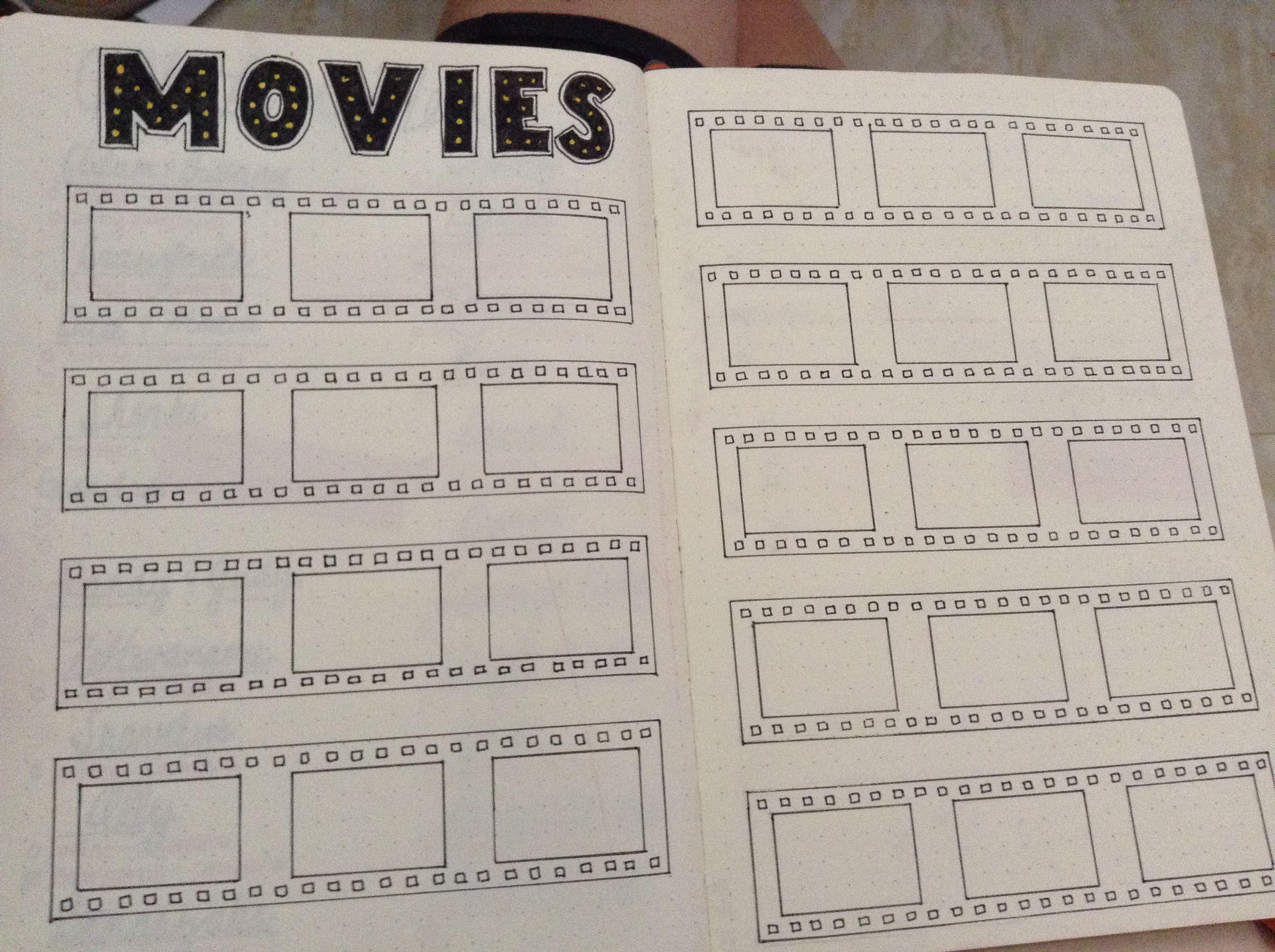 how to make a movie list