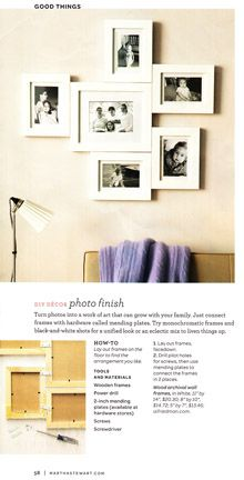 Make a grouping out of individual frames
