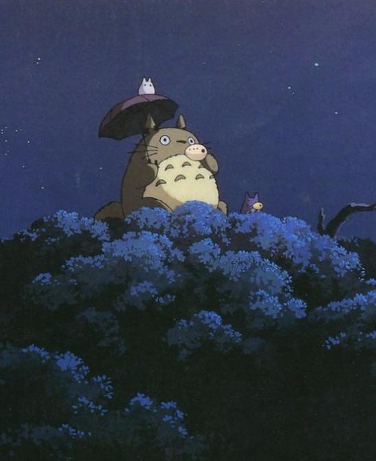 (very wholesome anime.) My Neighbor, Tororo Totoro