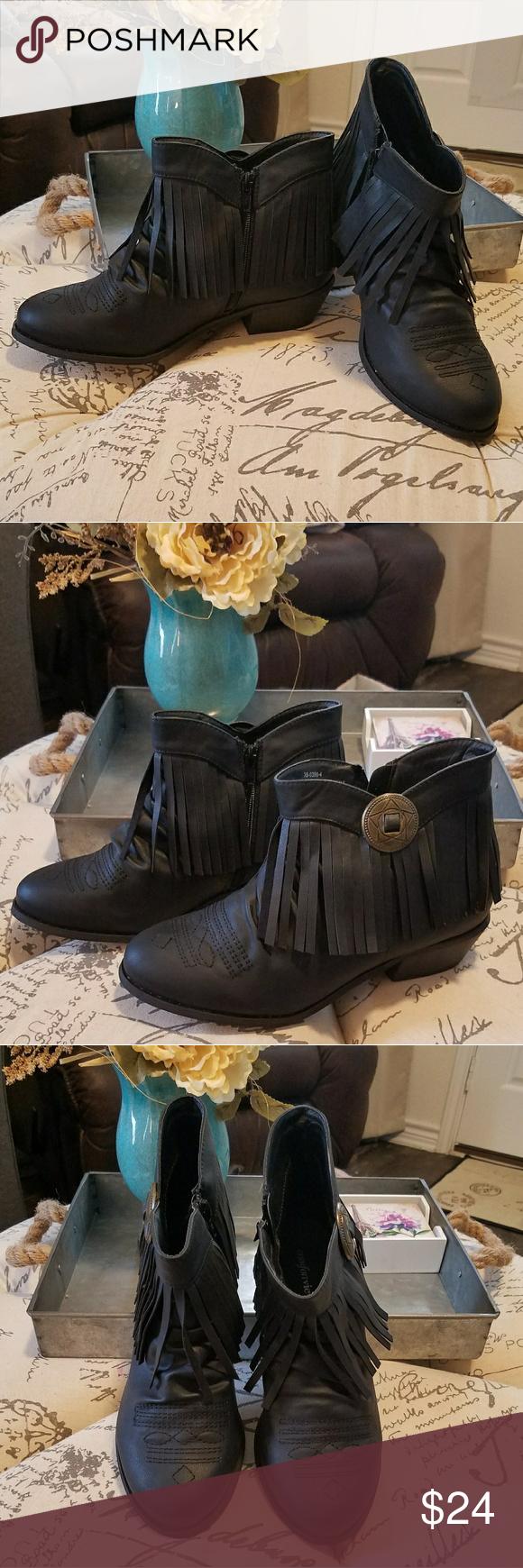 d8c4faf22df Comfortview Women Ankle Boots Black size 9 1 2 W Comfortview Ankle Boots  Black size