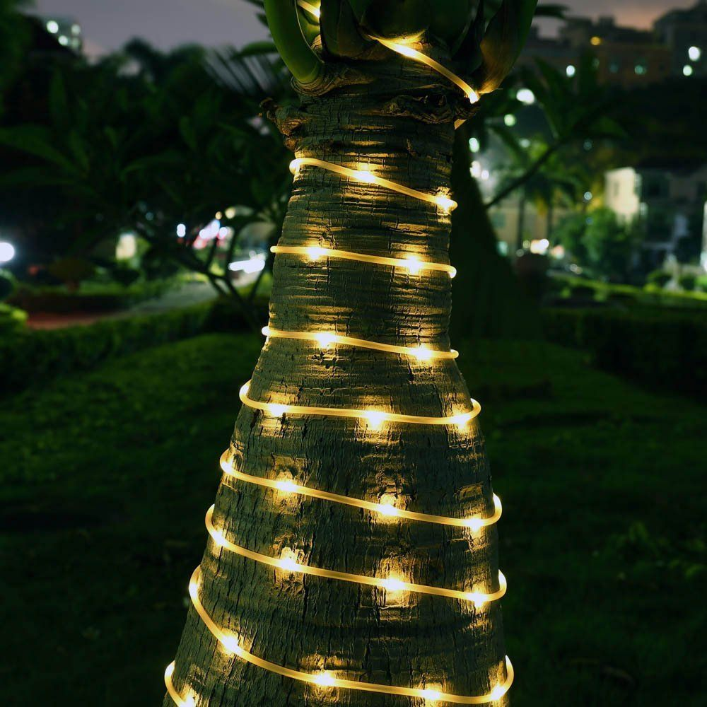 Pin On Solar Powered Rope Lights