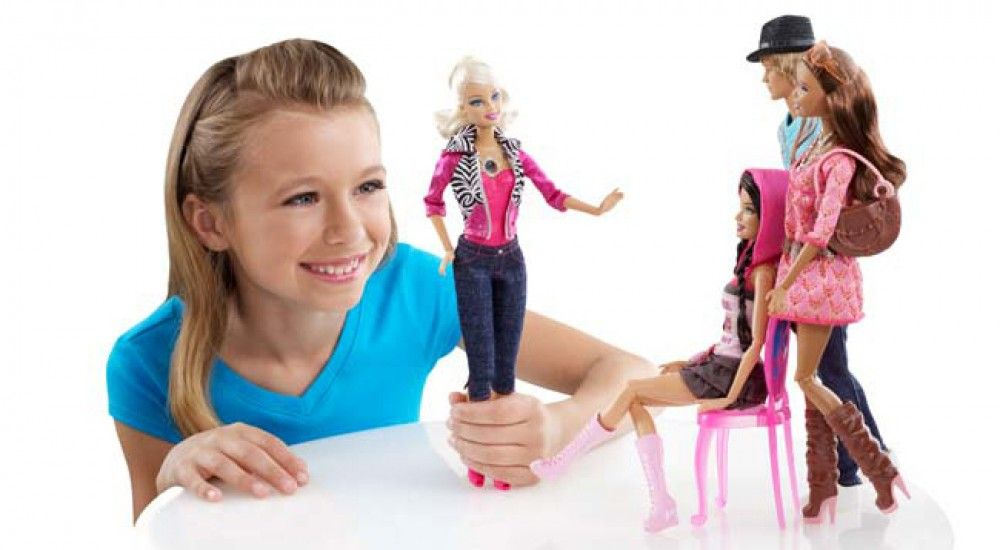 barbie girl play