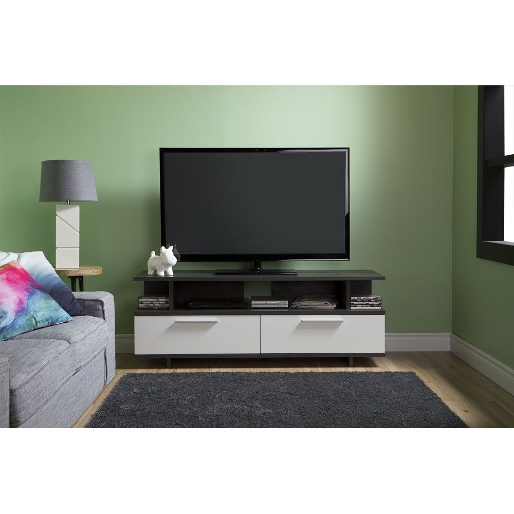 Shop South Shore Furniture Reflekt Tv Stand At Lowe S Canada Find