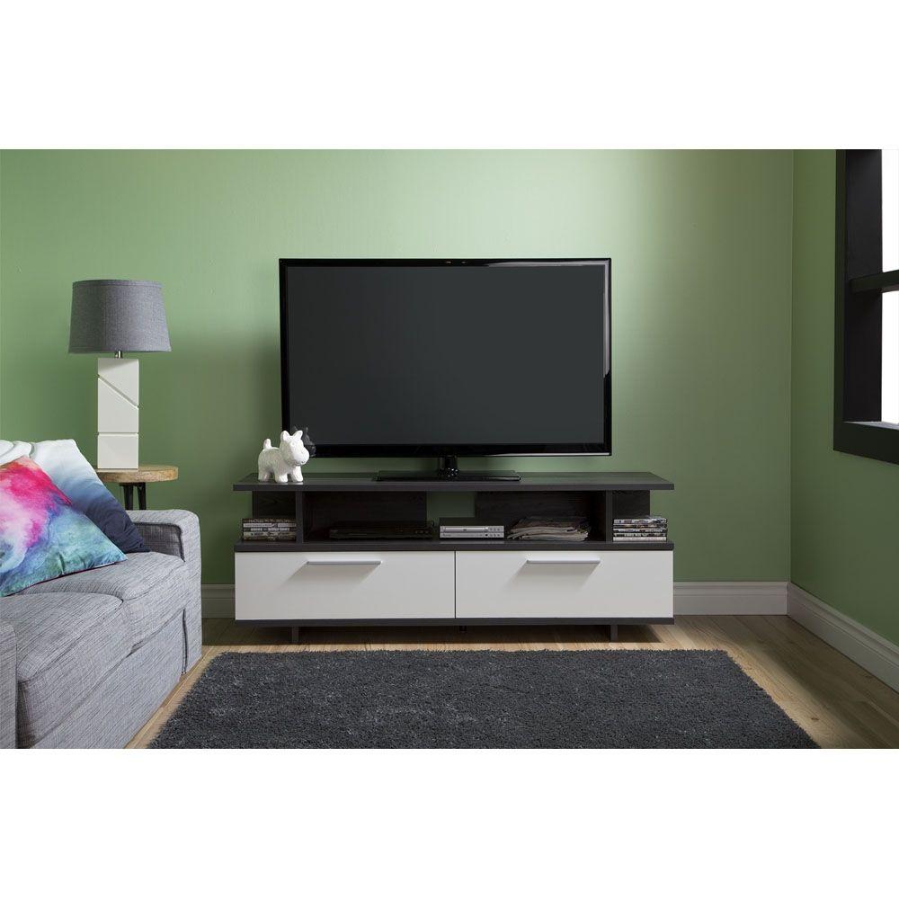 Shop South Shore Furniture Reflekt Tv Stand At Lowe S Canada Find  # Modele Des Tables Pour Television Plasma En Fer Forge
