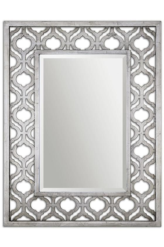 Sorbolo Mirror Silver Mirror Rectangular Mirror Decorative