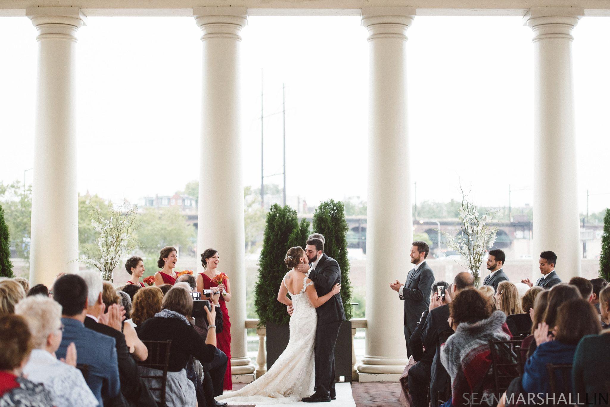 marriedbymyfatherinlaw #kissthebride #wedding #schuylkillriver ...
